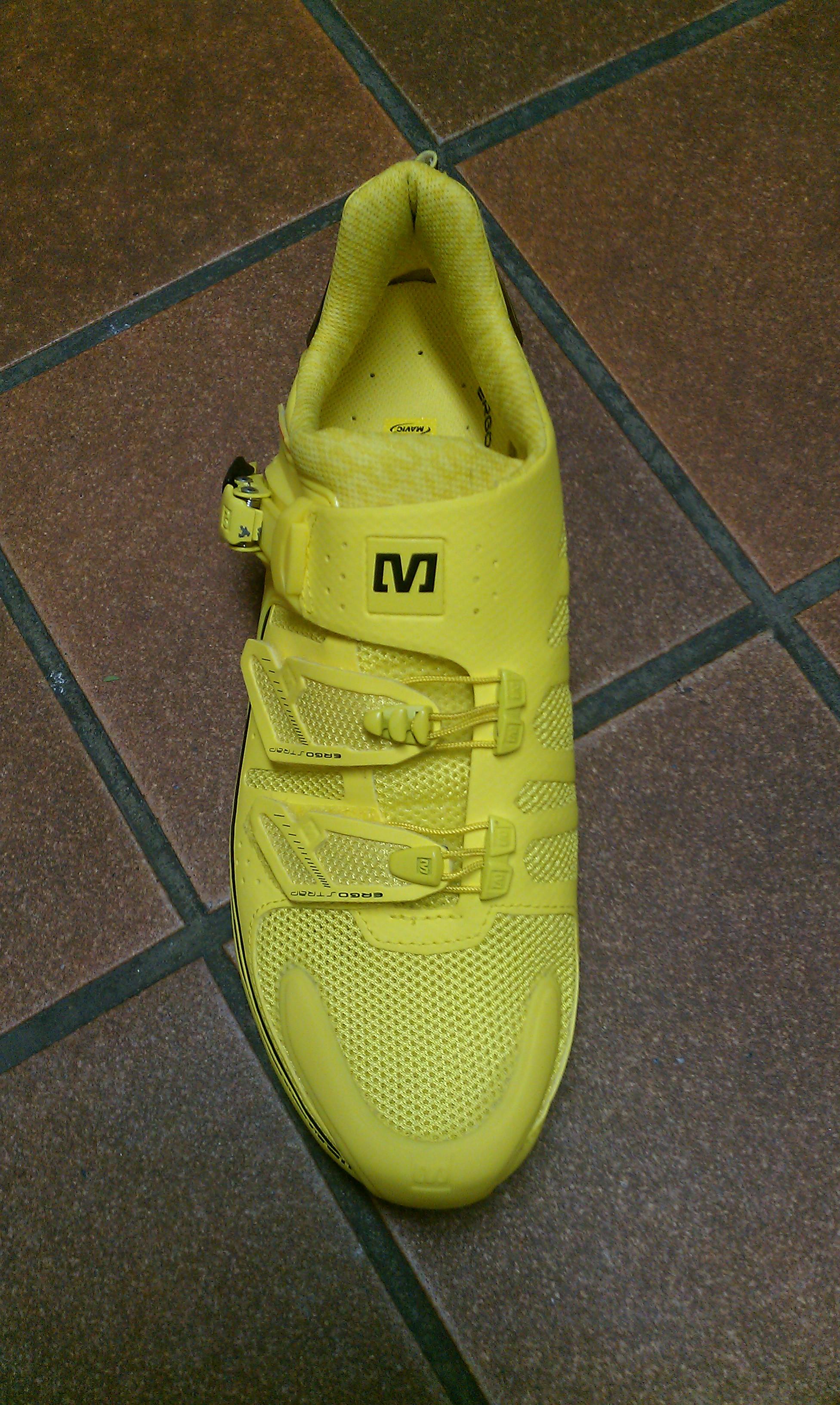 Mavic Zxellium gelb - Vorderansicht